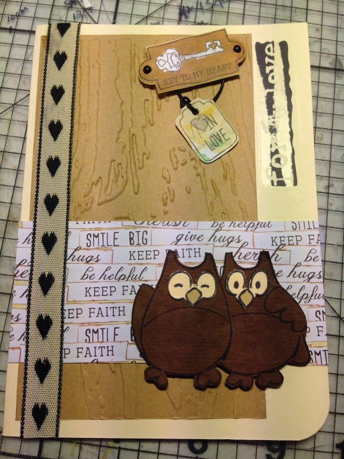Owl always love you <3  Wedding card