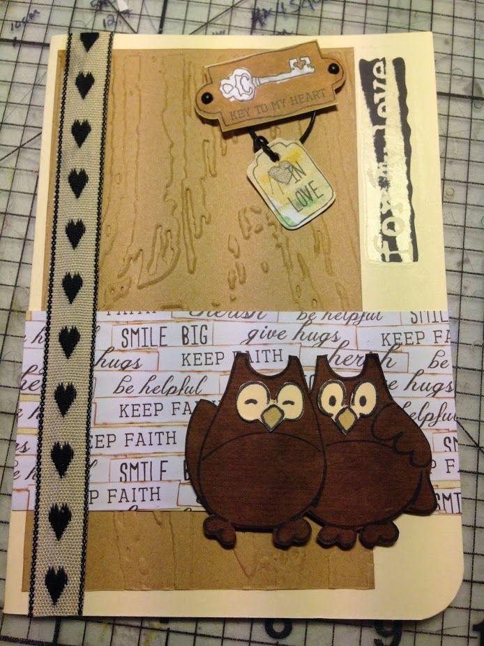 Owl always love you <3  Wedding card