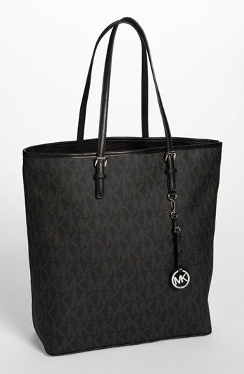MICHAEL Michael Kors 'Jet Set - Signature' Tote, Extra Large available at #Nordstrom