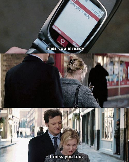 "Uh, yes: Bridget Jones & Mark Darcy in ""Bridget Jones: The Edge of Reason"""