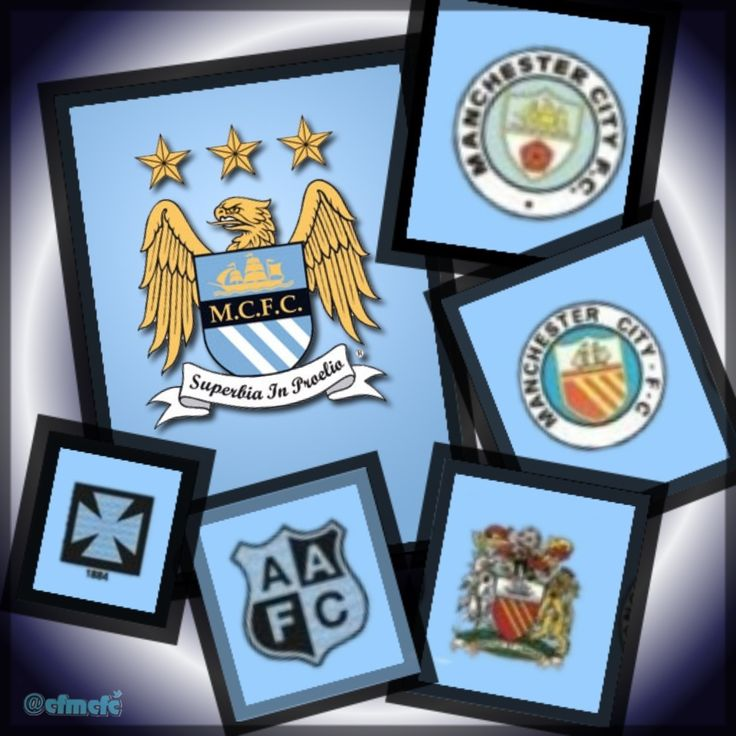 We won't forget our past! MANCHESTER CITY (badge history) #mcfc