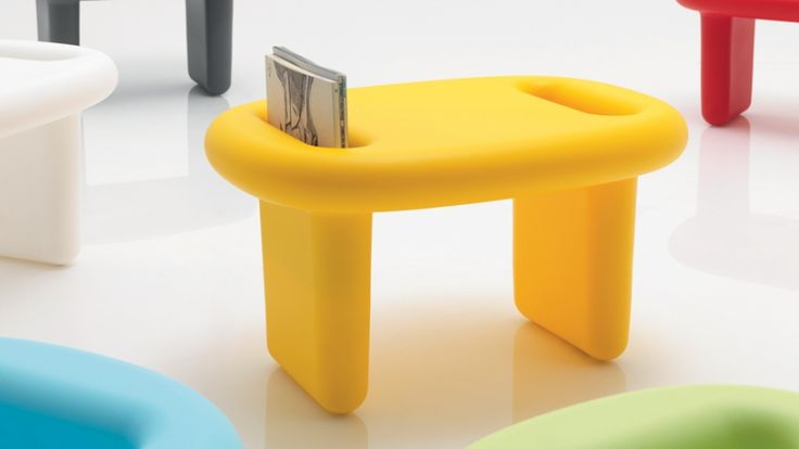 Playful and practical: Karim Rashid's new furniture designs for Italian brand B-Line are multi-functional and lots of fun.
