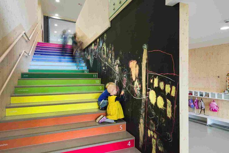 Проект современного детского сада в Словении