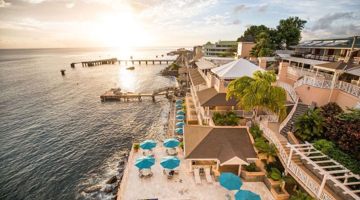 Dominica's Fort Young Hotel Reopens  In another positive step for Dominica's rebuilding tourism sector, the island's Fort Young hotel has partially reopened.  #dominica #hotel #reopening #posthurricane #recovery
