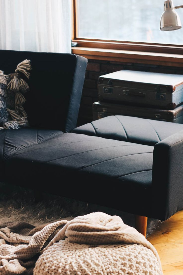 Fold down futon couch from Wayfair