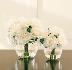 vase boule, deux vases boules