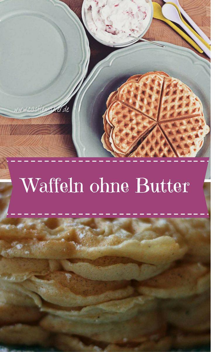 Waffeln sind doch einfach köstlich. Wie wäre es mal mit einer fettarmen Variante ohne Butter? Hier geht es zum Rezept und Ihr werdet ab nun nie mehr andere Waffeln wollen.