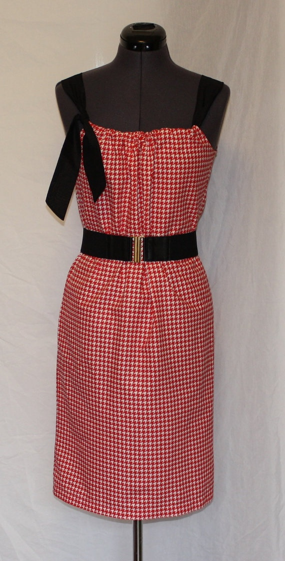 Women\u0027s Pillowcase Dress Red \u0026 White Houndstooth by KazuKdesigns $35.00. & 20 best Pillowcase Tops images on Pinterest | Pillowcase dresses ... pillowsntoast.com