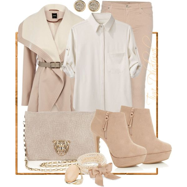 """""""WINTER WONDERLAND"""" by tinadhaliwal on Polyvore DRESSY CASUAL OUTFIT 