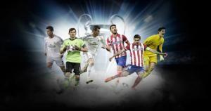 Real Madrid y Atlético de Madrid se enfrentarán por primera vez en la final de la Champions League. May 24, 2014