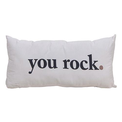 You rock cushion shabby chic style