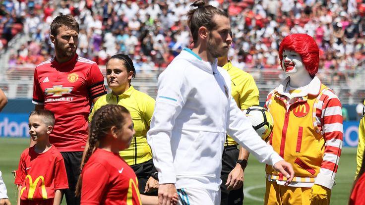 WATCH: Ronald McDonald lines up alongside Paul Pogba