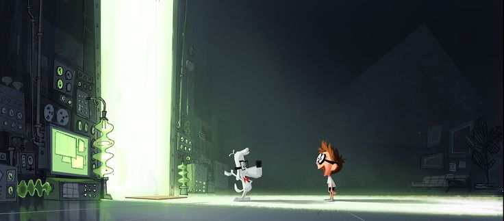 my first visual development painting for the WABAC, Mr Peabody's time machine. http://timattheoffice.tumblr.com