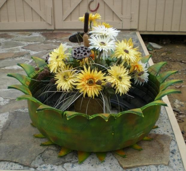 Amazing Uses For Old Tires – 34 Pics