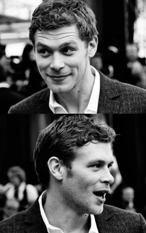 Joseph Morgan -- isn't he just adorable? Yes. Yes he is.