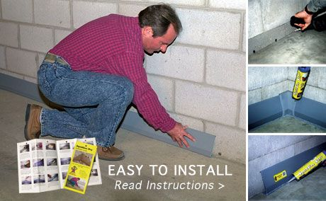 Diy Basement Waterproofing Sealonce System