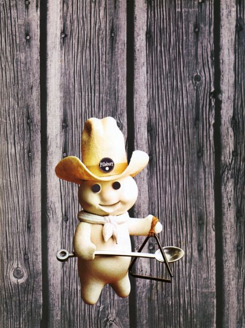The 1972 Pillsbury Bake-Off Contest was held in Houston, Texas. Poppin' Fresh, the Pillsbury Doughboy, brought his one gallon hat.