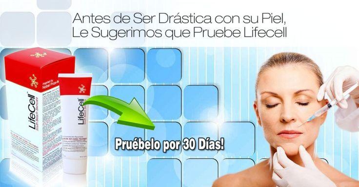 Lifecell: Crema antiarrugas Todo en Uno que funciona en virtud de 61 segundos   Lifecellskin Crema Antiarrugas Todo en Uno.
