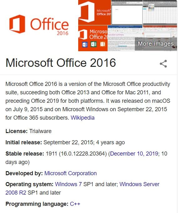Microsoft Office 2016 Product Key Generator For Free 100 Working