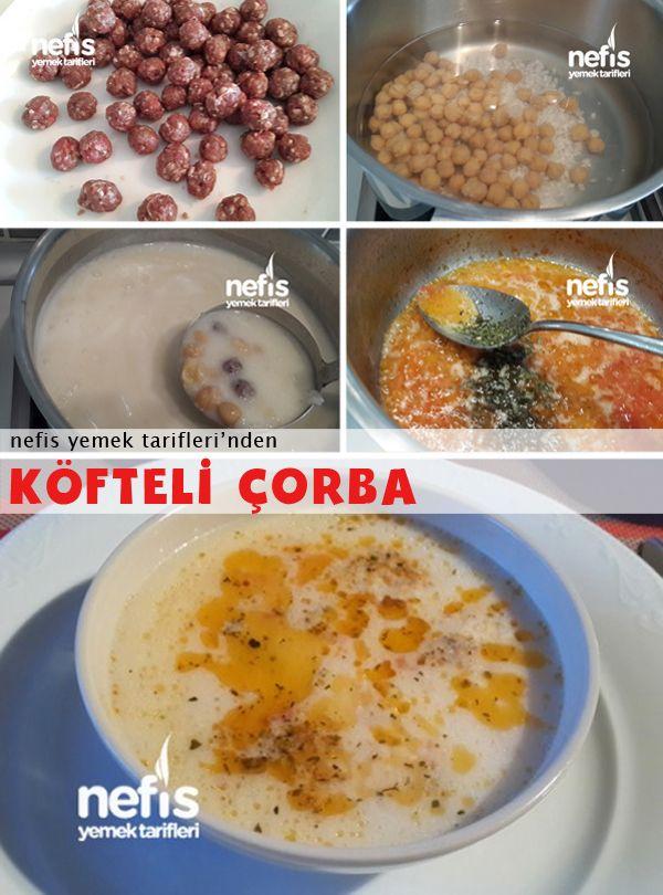 Köfteli Nohutlu Çorba
