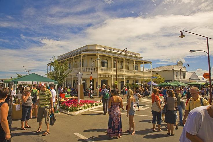 Martinborough, on festival day,  see more at New Zealand Journeys app for iPad www.gopix.co.nz