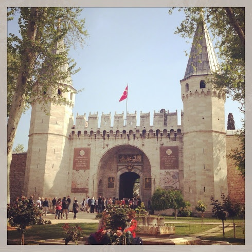 The Gate of Salutation, Topaki Palace, Istanbul