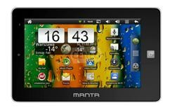 MANTA MID02 tablet
