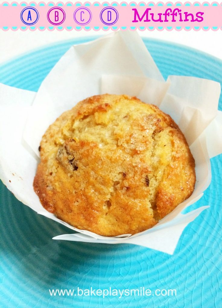 Need a healthy alternative to the usual sugar-filled muffins? These Apple, Banana, Coconut & Date Muffins are for you! http://www.bakeplaysmile.com/abcd-muffins/