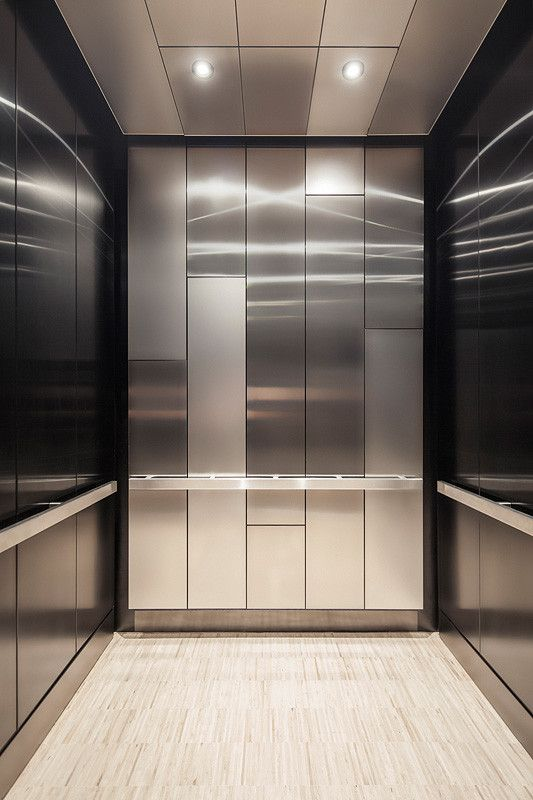 LEVELe-108 Elevator Interior with customized panel layout; Minimal panels in…                                                                                                                                                     More