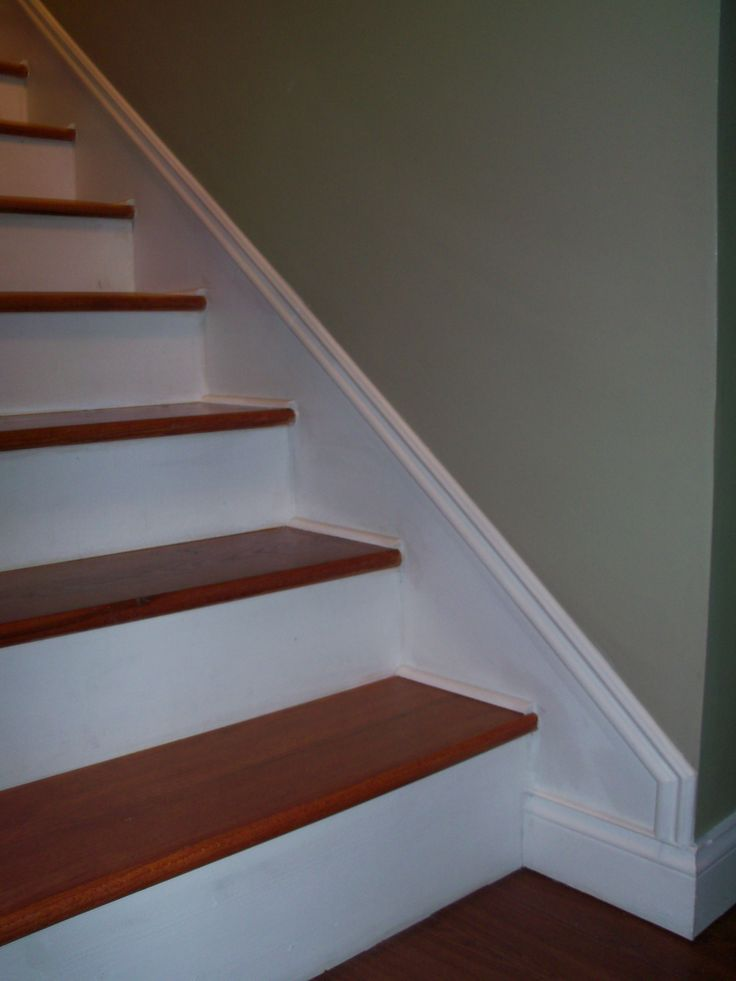17 best images about design stairwell on pinterest for Cost to paint baseboard