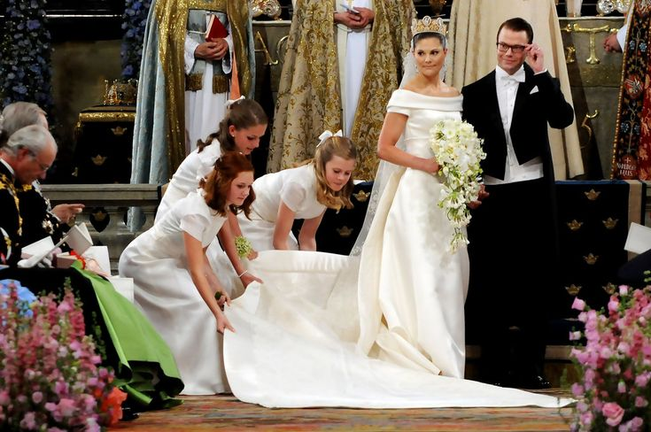 Princess Victoria - Wedding Of Swedish Crown Princess Victoria & Daniel Westling - Ceremony