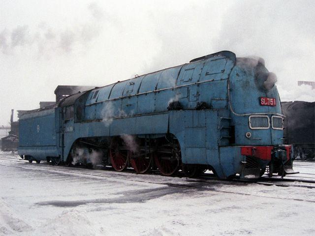 満州鉄道SLパシナ型