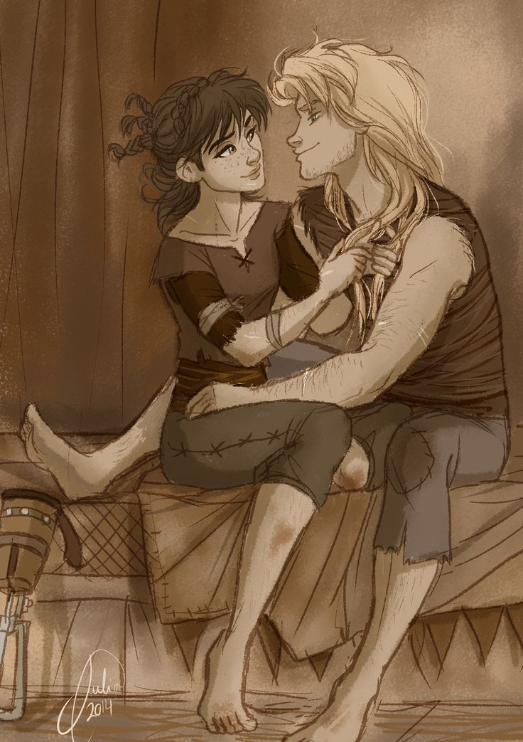 HICCUP AND ASTRID GENDERBENT IM HAVING TROUBLE BREATHING