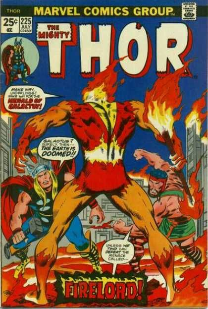 The Mighty Thor - Fire - Fighting Men - Muscles - Masks