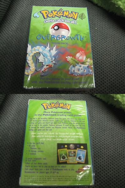 Pok mon Sealed Decks and Kits 183467: Pokemon Theme Deck 1999 New Very Rare! Overgrowth -> BUY IT NOW ONLY: $50 on eBay!