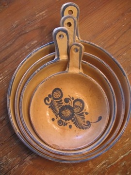 Mexican Pottery Nesting Bowls Vintage by destash4u on Etsy, $40.00