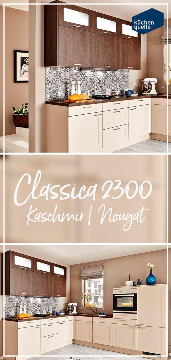 Einladende Landhauskuche Mit Der Classica 2300 Wird S Gemutlich Landhauskuche Haus Kuchen Haus Deko