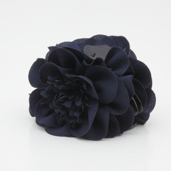 Handmade Long Pistil Flower hair jaw claw for your special day