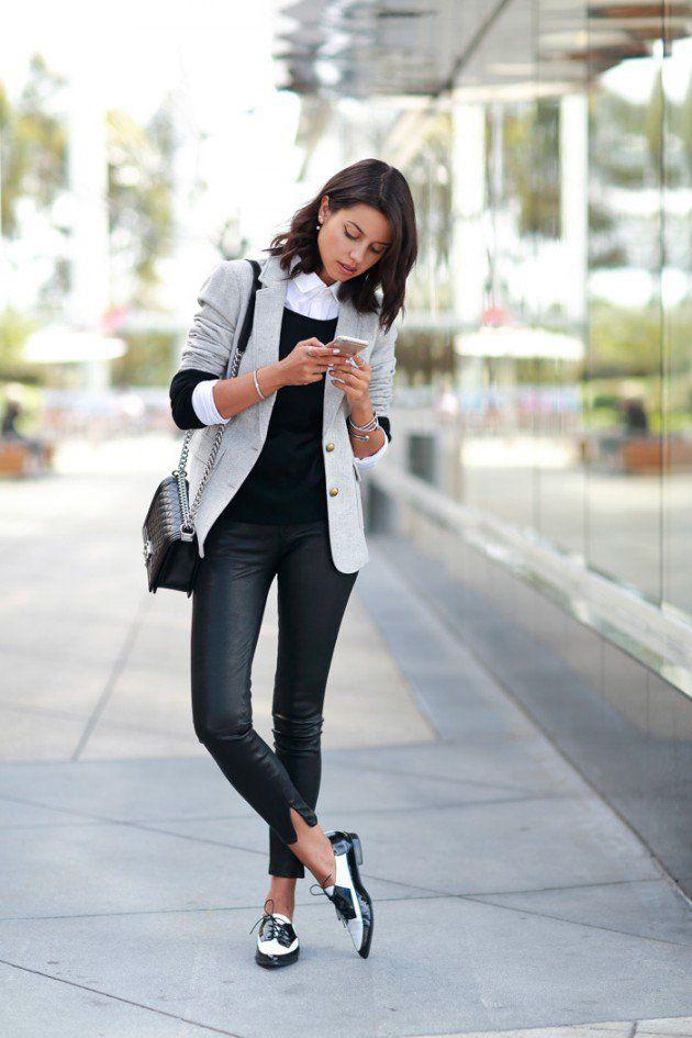 How To Wear Oxford Shoes Fashiongum Com Work Fashion