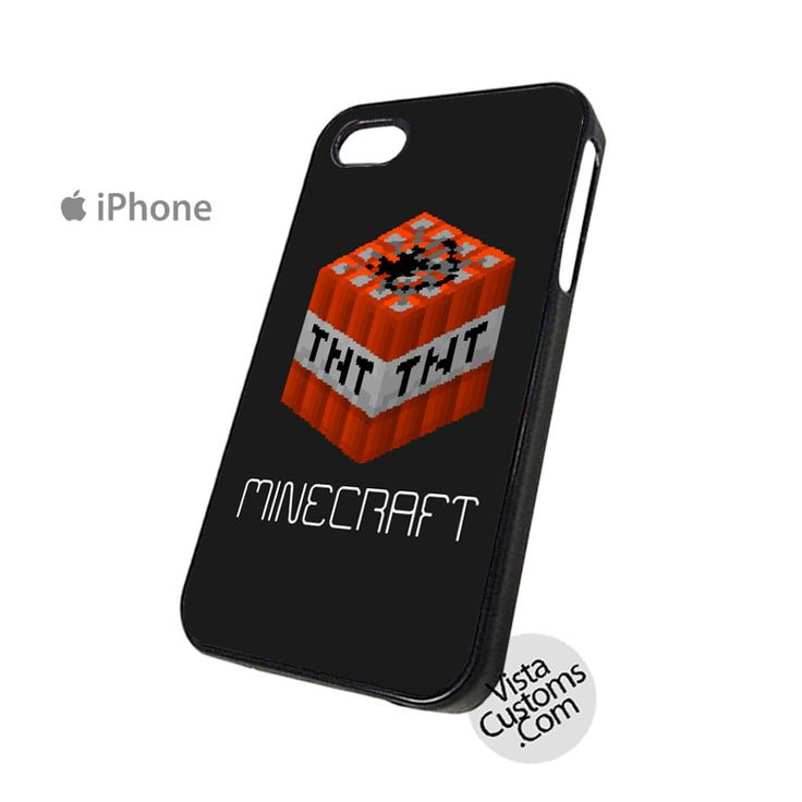 minecraft iphone case minecraft tnt phone for apple iphone 4 4s 5 5s 7227