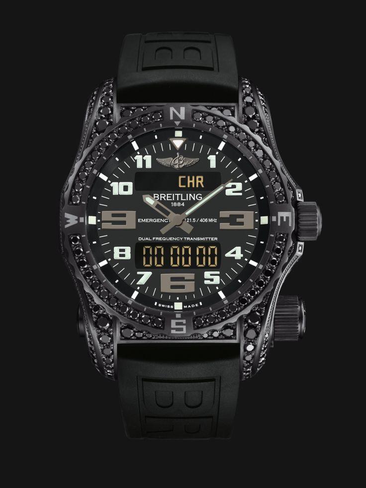 Breitling Emergency Swiss watch with personal locator