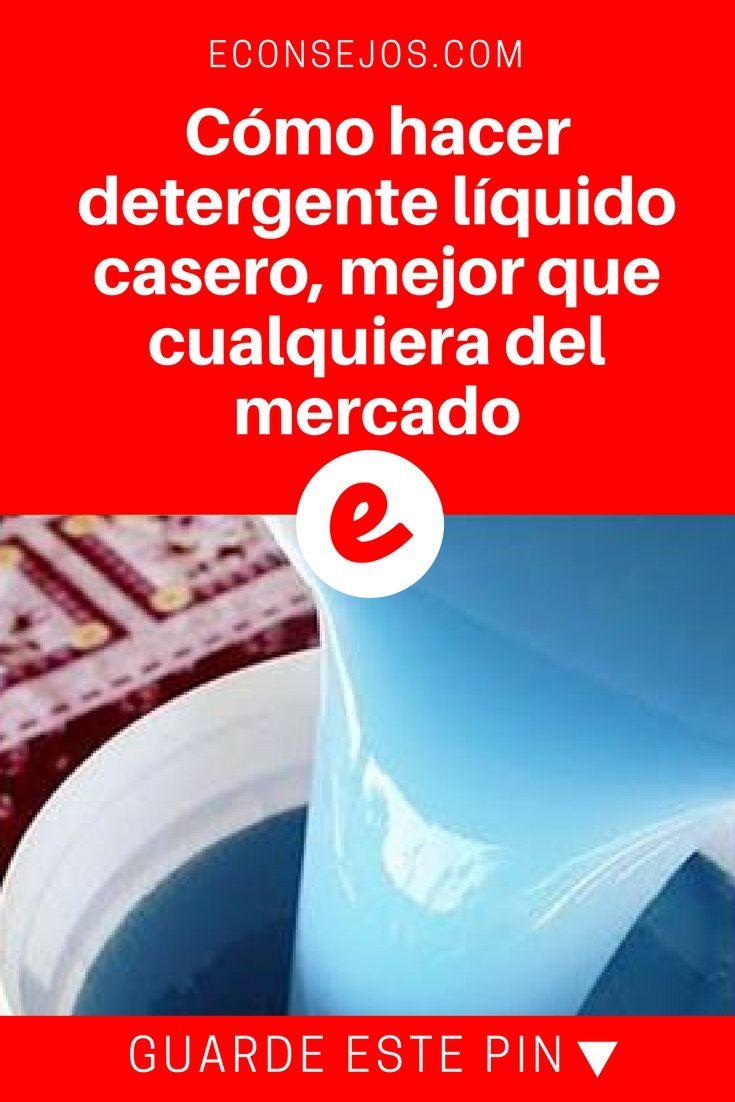 Detergente liquido casero   Cómo hacer detergente líquido casero, mejor que cualquiera del mercado   ¡Probado y aprobado!  ¡Hágalo usted mismo y compruebe, su bolsillo y ropa se lo agradecerá!!