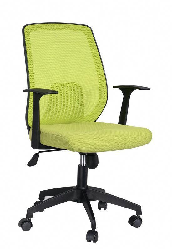 durable office chairs ikea easy chair promotion green mesh computer staff task reception on sale china foshan seating factory