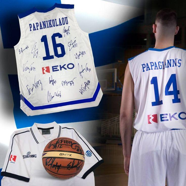 Διαγωνισμός EKO Greece με δώρο επίσημες φανέλες της Εθνικής, μπάλες μπάσκετ υπογεγραμμένες από τους παίκτες της Εθνικής Ομάδας Μπάσκετ και polo μπλουζάκια! http://getlink.saveandwin.gr/9gK