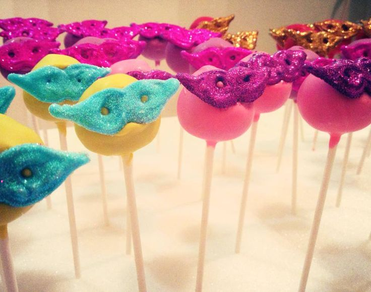 Masquerade Cake Pops by Fancy Batter www.facebook.com/fancybatter