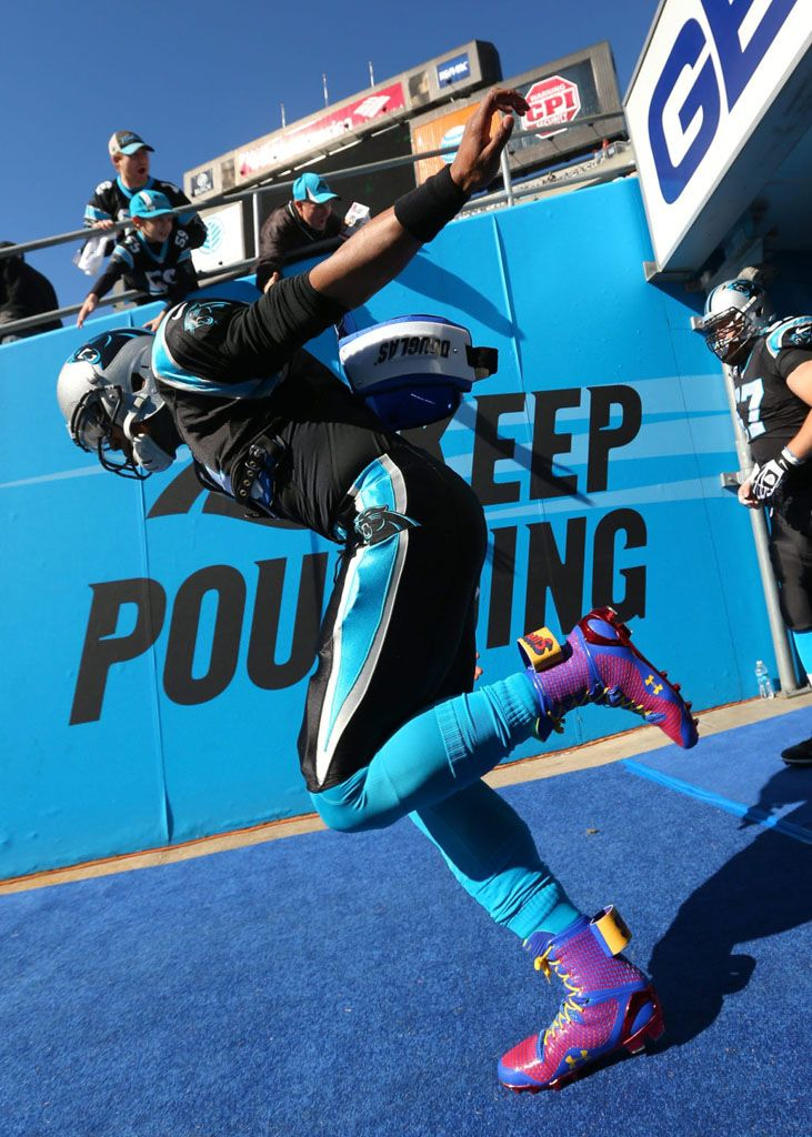 Cam Newton's 'Super Cam' Under Armour ClutchFit Highlight Cleats