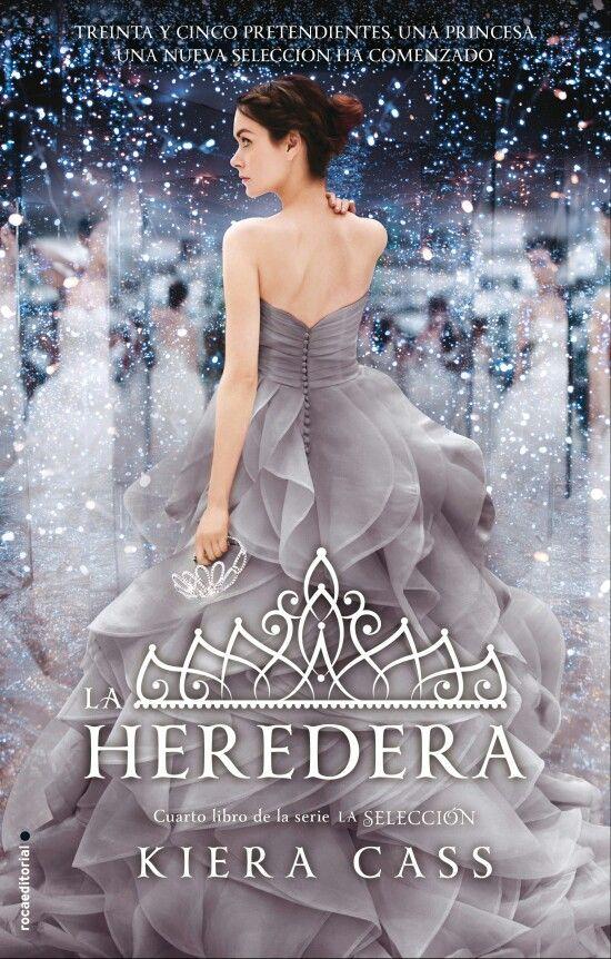 """""""La heredera"""" escrito por Kiera Cass."""