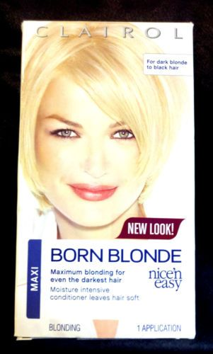 Going blond? LOT of 3 CLAIROL BORN BLONDE HAIR COLOR BLONDING DYE MOISTURIZING MAXI BLEACH BEAUTY STYLING WOMEN - on eBay! $22.98