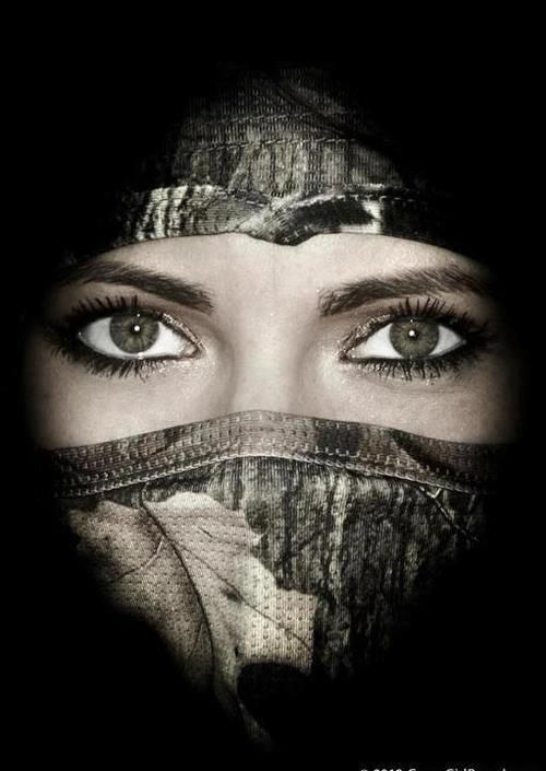 Thought this also was a neat pic! GONA DO ME AND MY CAMO HUNTING MASK