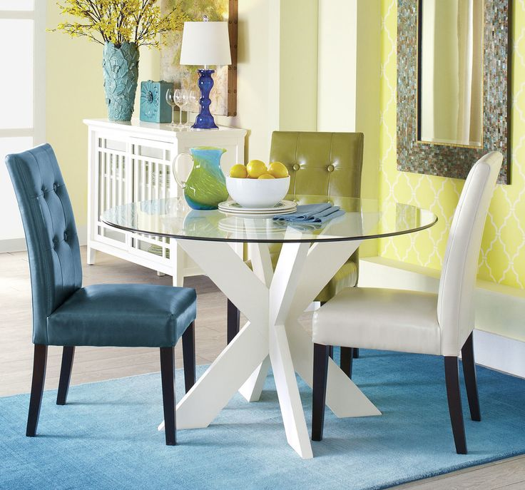 Mason Teal Dining Chair With Espresso Wood
